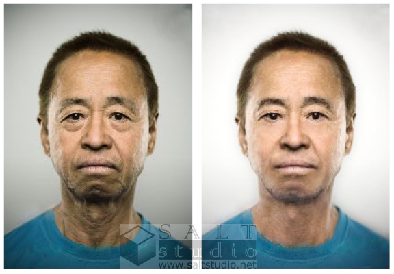 修描前後比較 before and after retouch service image samples